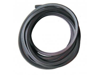 ELEKTRO BEČOV Chránič 4mm, svitek 100m, černý, ochrana hran plechů