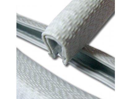MOREK Chránič hran plechů 2mm svitek 10m šedá