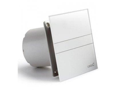 CATA Ventilátor e100 G sklo bílý