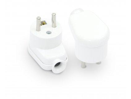 PLASTROL Vidlice WT-16 230V/16A boční bílá IP20