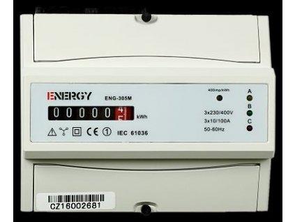 ENERGY Elektroměr ENG-305M 10-100A 3f.1s