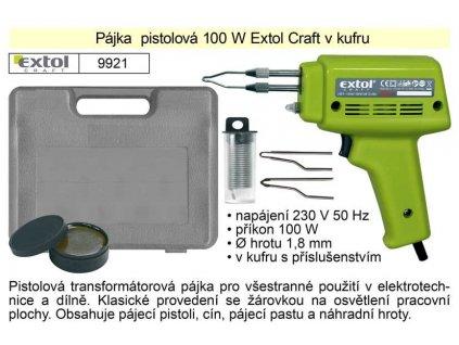 INNA Páječka 100W transformátorová v kufříku