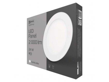 EMOS Svítidlo LED 24W 4000K kruh průměr 29,7 vestavěné