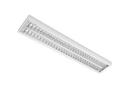 MODUS Svítidlo LLL5000, 2x LED 840, 1510mm, lesklá mřížka, přisazené, NONSELV 250mA
