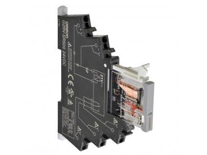OMRON Relé G2RV-SR500 AC230 BY OMB, úzké 6mm