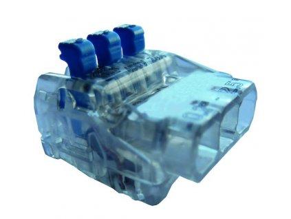 PROTEC Svorka PSK 325H 3x0,2-2,5mm transparentní