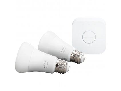 HUE Žárovka LED BLUETOOTH včetně můstku 9W E27 806lm IP20 (2ks)