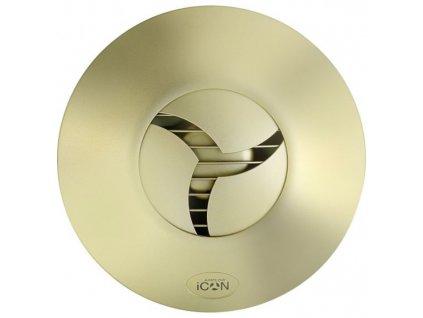 AIRFLOW Ventilátor iCON 15 230V/50Hz zlatá