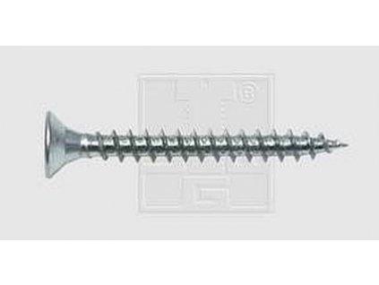 SWG Vrut do dřevotřísky 3 mm 16 mm křížová drážka Pozidriv ocel pozinkované, 200 ks v balení