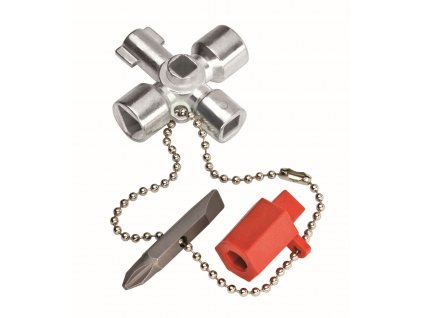 KNIPEX 00 11 02 Klíč na rozvodné skříně, malý