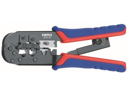 KNIPEX 97 51 10 Kleště lisovací pro konektory Western