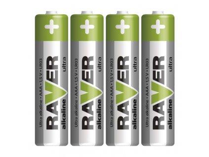 EMOS RAVER alkalická baterie AAA (LR03) 4 ks B7911