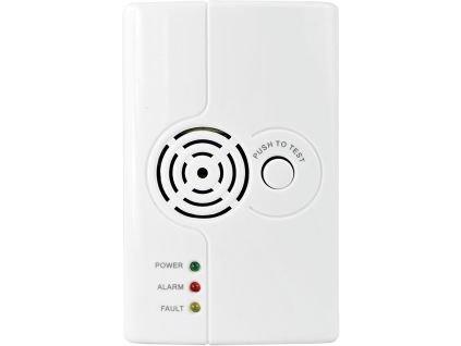 iGET SECURITY M3P6 - bezdrátový detektor plynu LPG/LNG/CNG, 230V, samostaný nebo pro alarmy M3 a M4