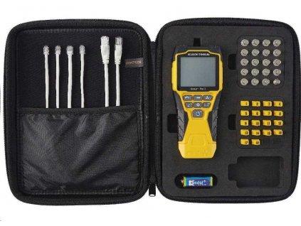 KLEIN TOOLS - LAN TESTER - VDV Scout® Pro 3 Tester Kit, ID 18xRJ-45, 18x F-konektor