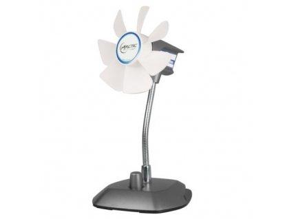 ARCTIC Breeze Silver, stolní ventilátor do USB