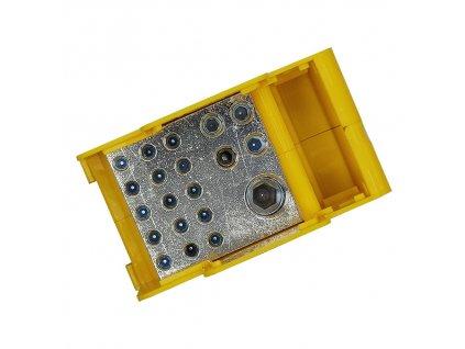 Blok DTB 120/15x16+4x3 dist.žluto zelený