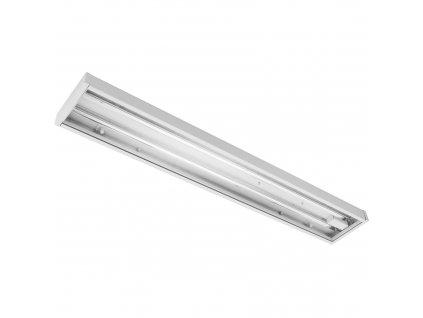 MODUS MEGA LED 1220mm, hlubokozářič, 2x LED 857, závěsné, zdroj 1050mA nestmívatelný, s předř. skříní