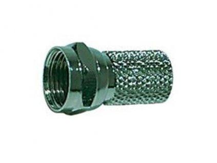 Konektor F 7 mm šroubovací
