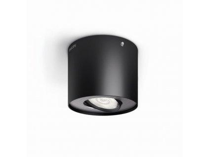 PHILIPS Svítidlo LED Phase 1x4,5W 1000lm 2700K černá 53300/30/16 IP20