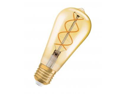 Žárovka-LED 5W-25 E27 2000K 25° FIL GOLD