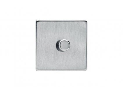 Govena Luxusní tlačítkový otočný stmívač LED 3-100W, s mikroprocesorem , broušená
