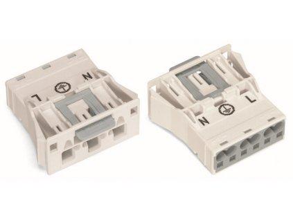 Konektor WAGO 770-733 3p 4mm2 bílý