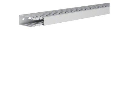 TEHALIT Kanál HA760025 propojovací, s víkem 60x25, barva šedá, délka 2m