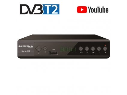 GOLDEN MEDIA MANIA 818, DVB-T2 SENIOR