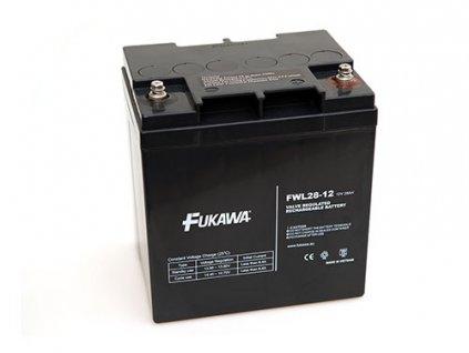 Akumulátor FUKAWA FWL28-12 (12V 28Ah živ. 10let)