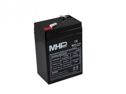 Baterie MHPower MS4.5-6 VRLA AGM 6V/4,5Ah