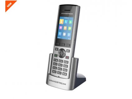 Grandstream DP730 IP tel., 2,4'' bar. displ., 2SIP úč., video, BT, Micro USB, HAC, Push-to-talk
