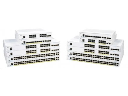 Cisco switch CBS250-48T-4X, 48xGbE RJ45, 4x10GbE SFP+