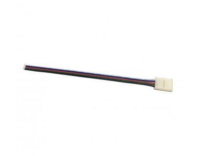 Konektor click - pro LED PÁSKY - RGBW - 12mm - 5pin - s vodičem