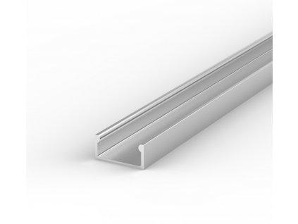 Hliníkový Profil pro LED pásky BRG-4 2m ELOXOVANÝ