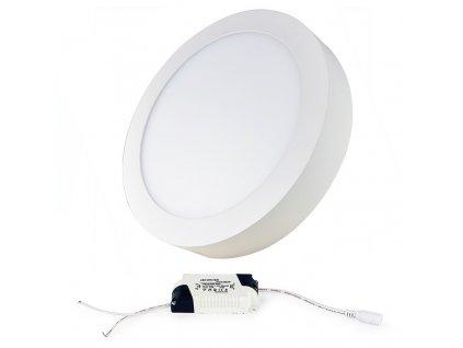 LED panel KRUHOVÝ BRGD0116 170x35mm přisazený - 12W - 230V - 860Lm - IP20 - studená