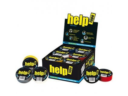 Páska izol. 45/5m textilní HELP