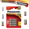 Alkalická baterie AAA Panasonic Pro Power LR03 4ks