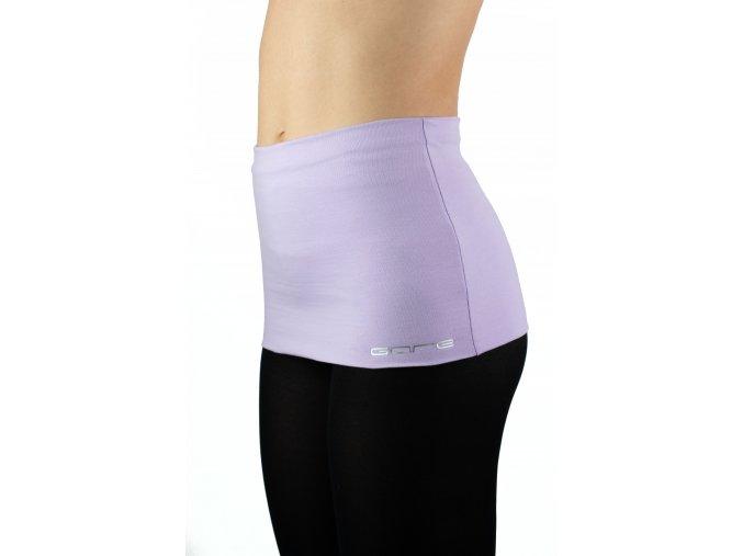 Ledvinový pás KLASIK - barva fialová pastelová