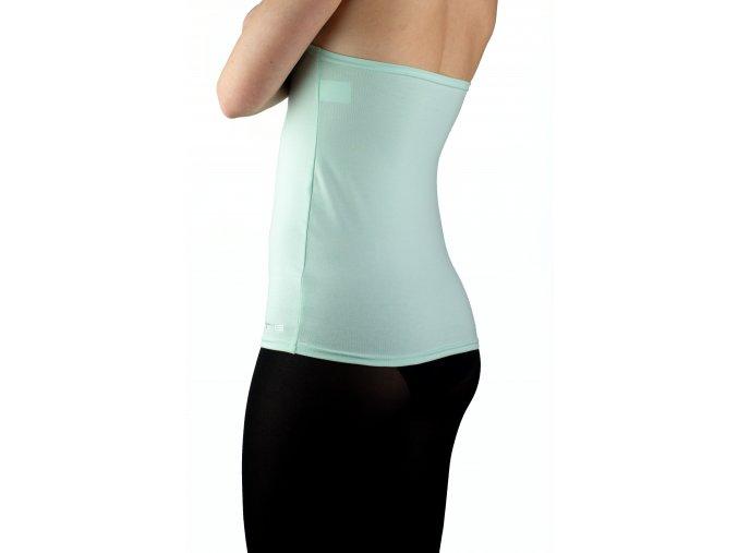 Ledvinový pás BODY -bavlna  barva mentolově zelená