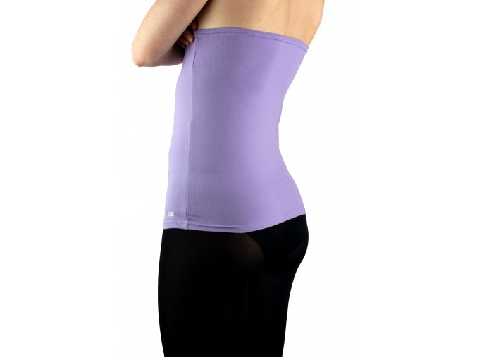 Ledvinový pás BODY -bavlna  barva  fialová
