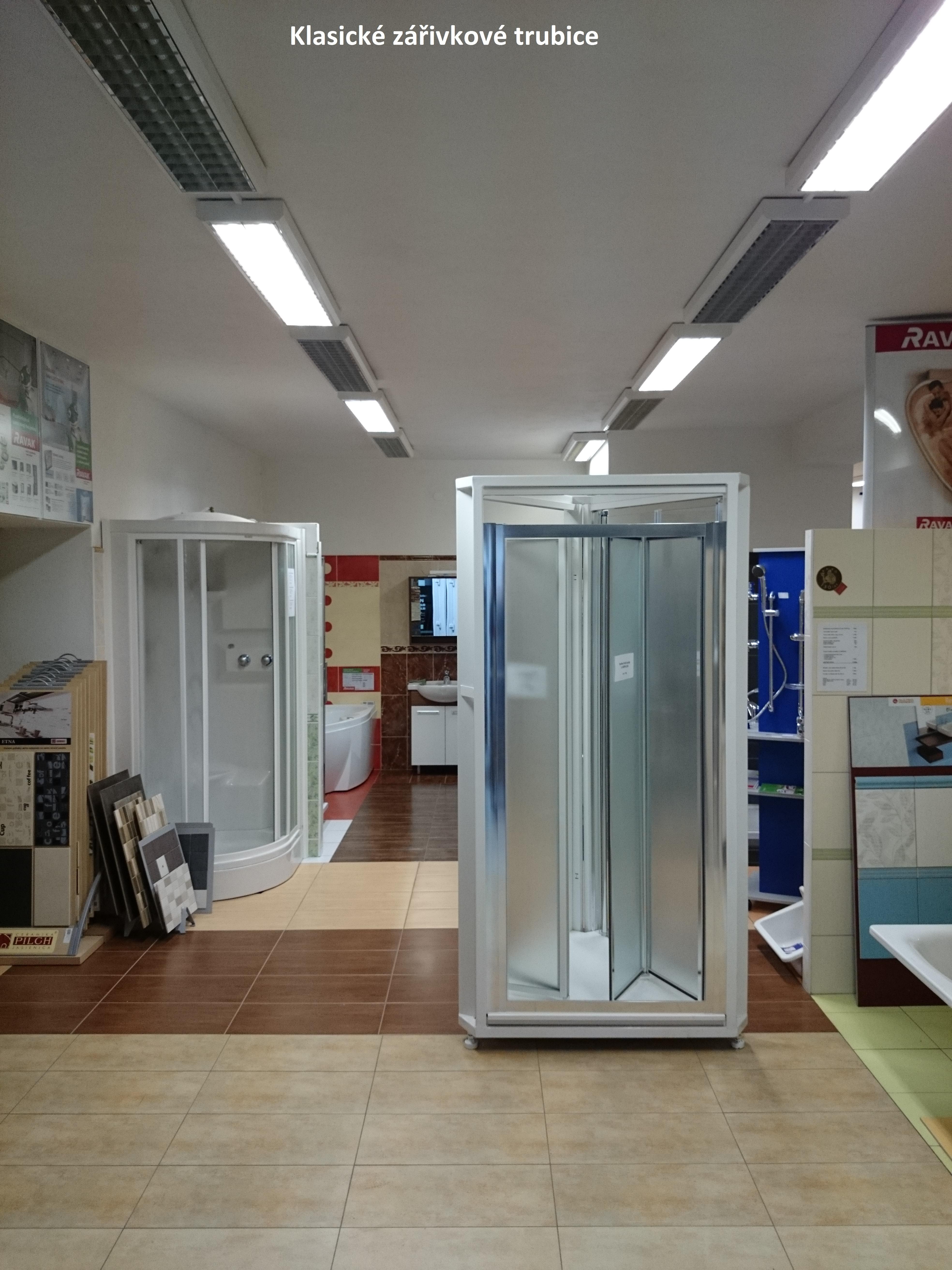 LED trubice koupelnové studio