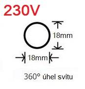 LED neon 230V