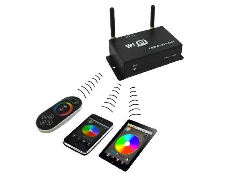 Ovladače pro RGB / RGBW pásky