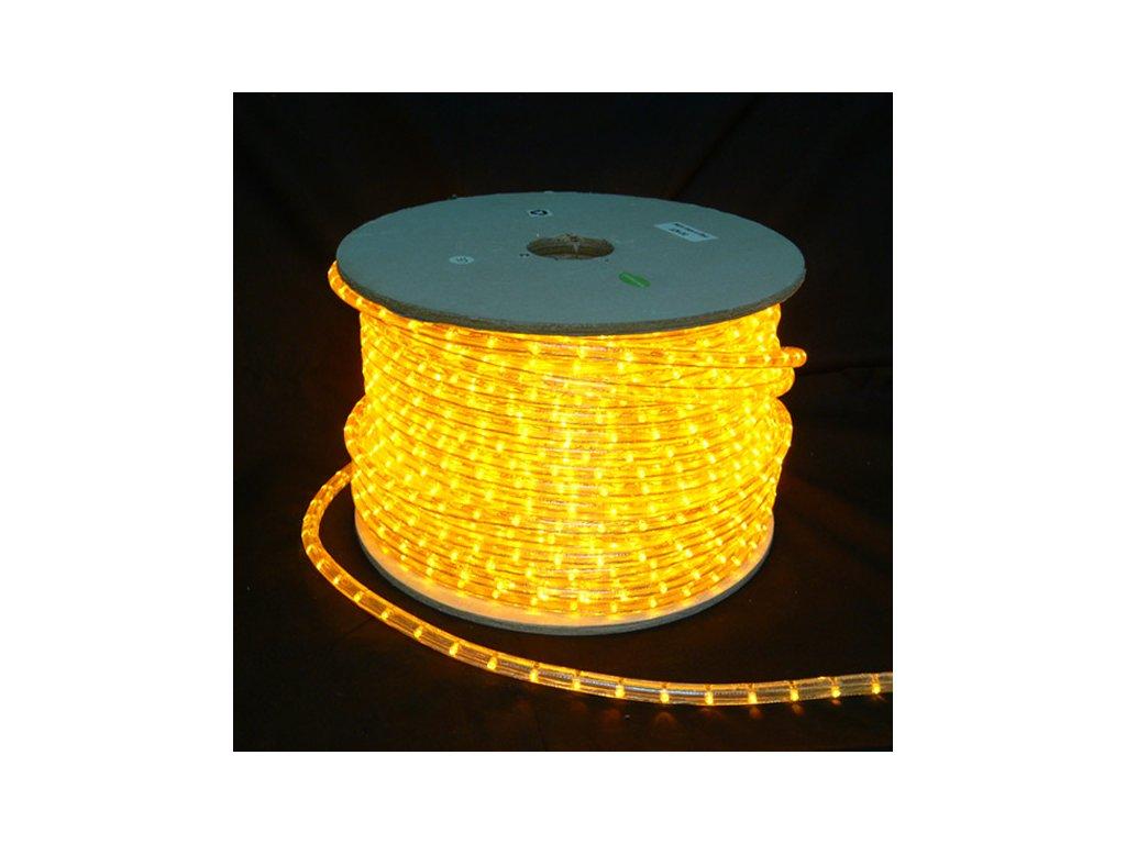 SIKOV LED světelný kabel žlutý