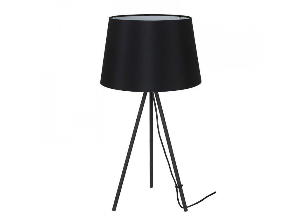 Solight stolní lampa Milano Tripod, trojnožka, 56 cm, E27, černá