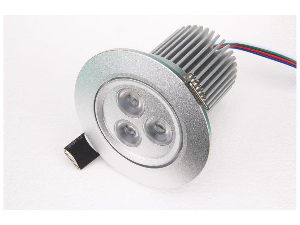 RGB podhledové svítidlo 12W 12VDC - RGB podhledové svítidlo 12W 12VDC