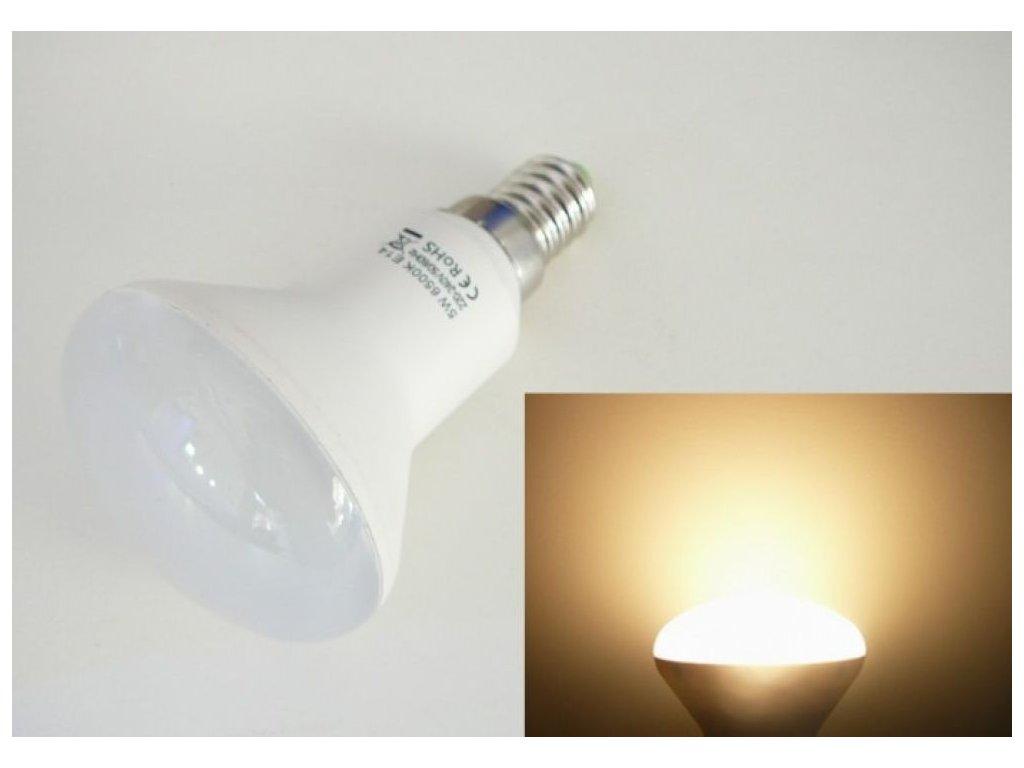 LED žárovka E14 S5W-180 - Teplá bílá