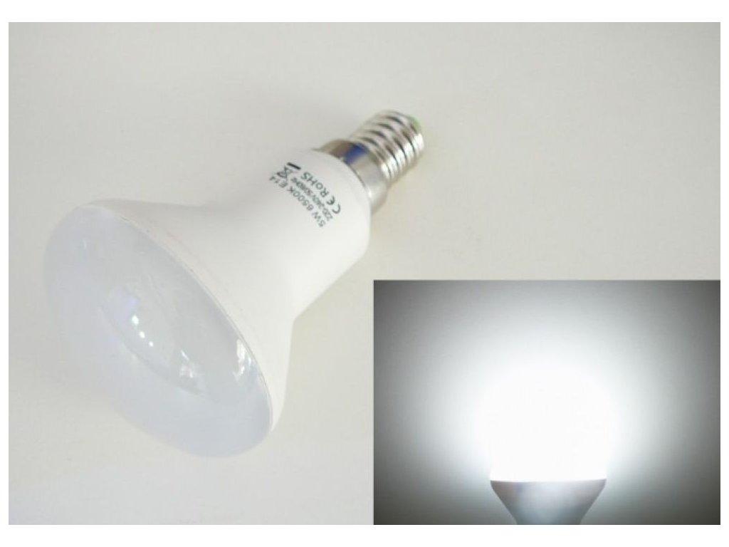 LED žárovka E14 S5W-180 - Studená bílá