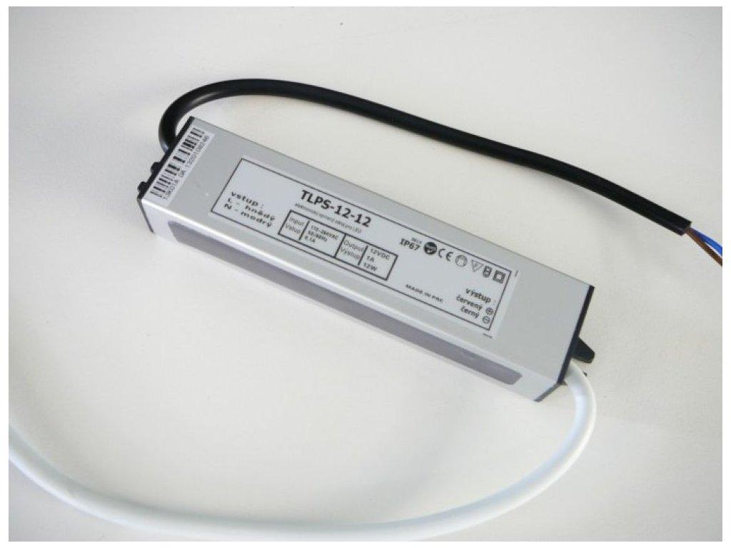 LED zdroj 12V 12W IP67 - LED zdroj 12V 12W IP67