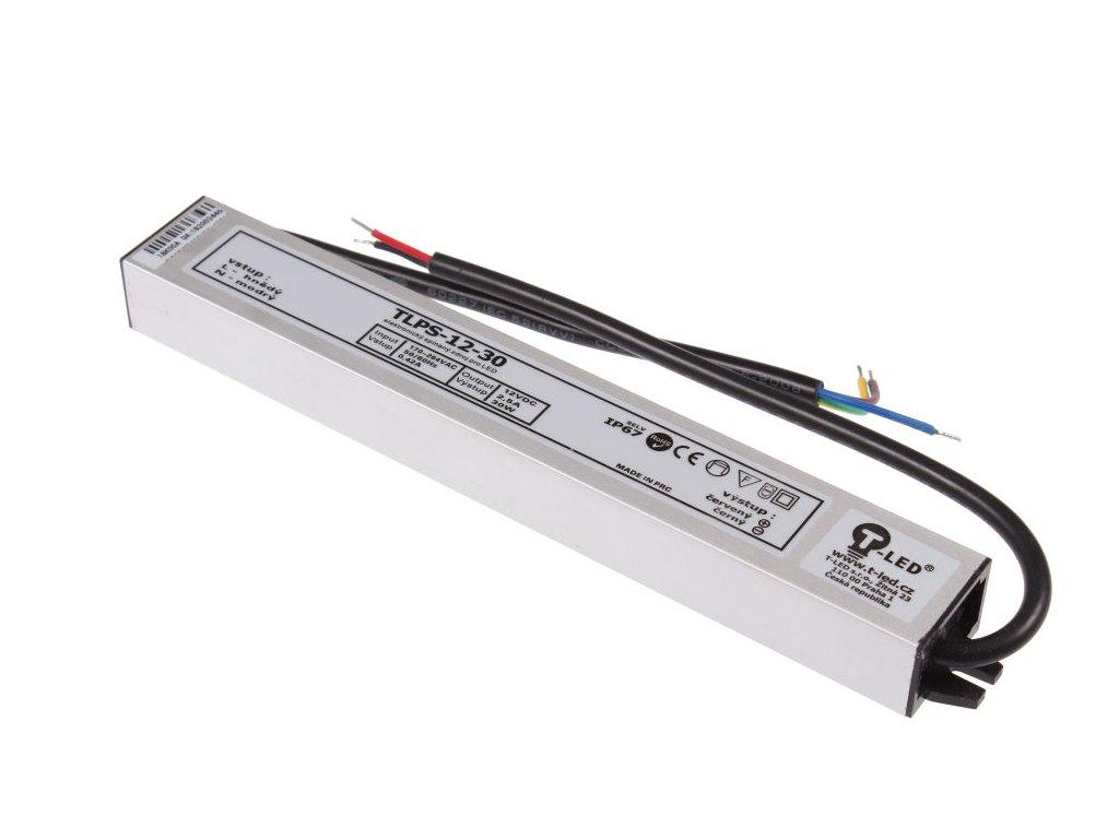 LED zdroj 12V 30W IP67 - LED zdroj 12V 30W IP67